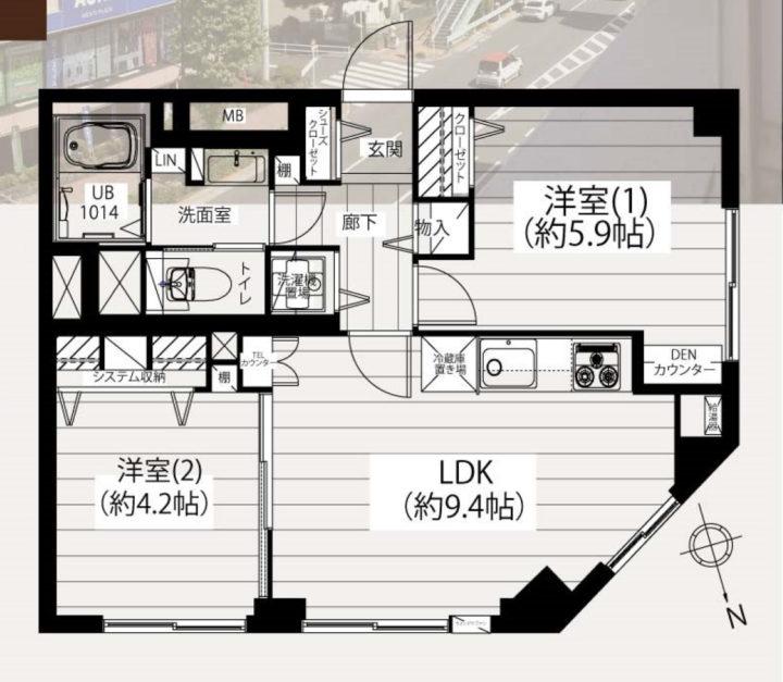 【価格改定】江古田ビル 6階