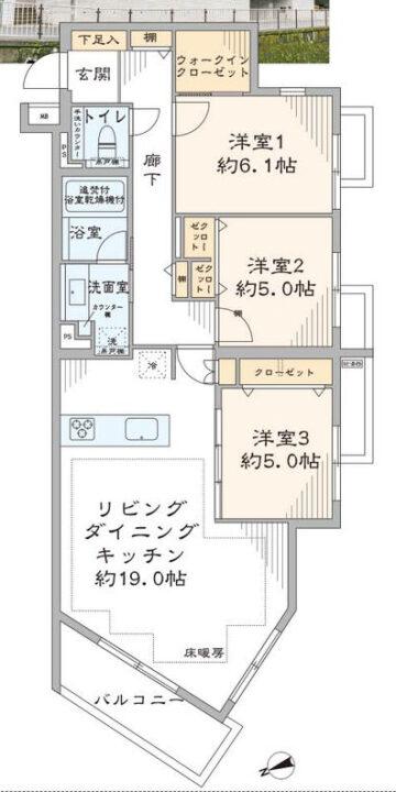 西荻窪デュープレックス 5階
