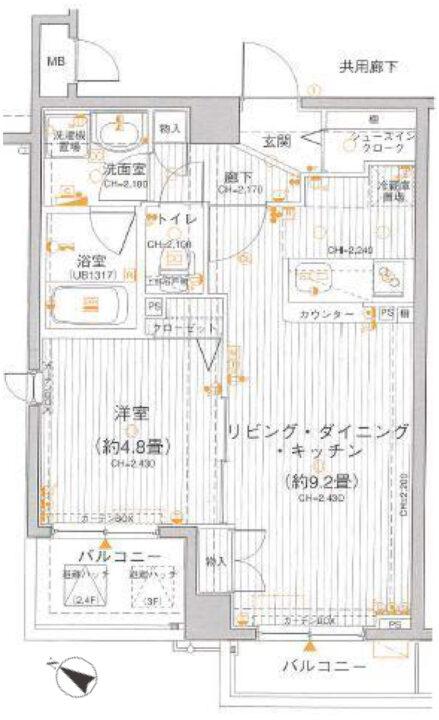 レクシオシティ高円寺 3階