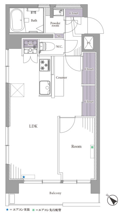 丸新マンション荻窪 4階