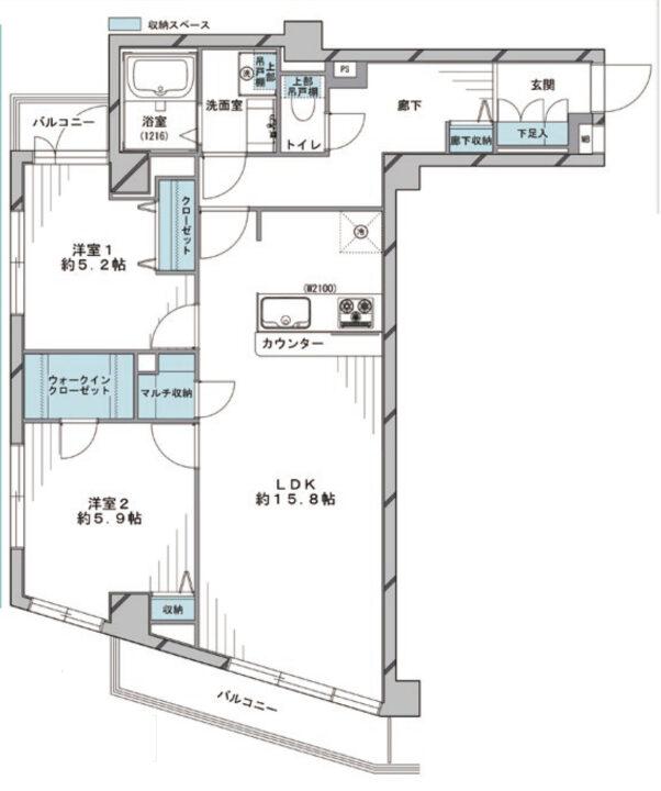 パレ・ドール富士見町 3階