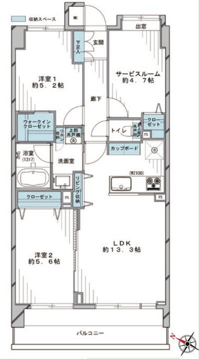 コスモ成増シティフォルム 1階