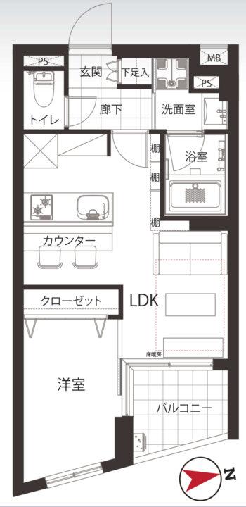 ダイナシティ高円寺 2階