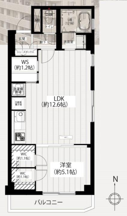 中銀南長崎マンシオン 9階