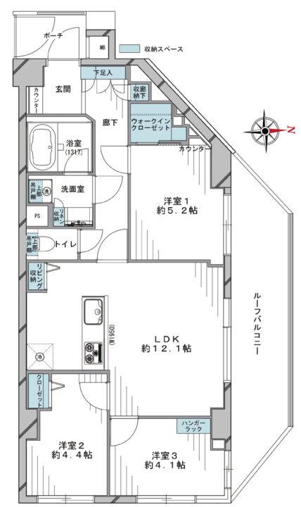 リビオ練馬高野台 3階