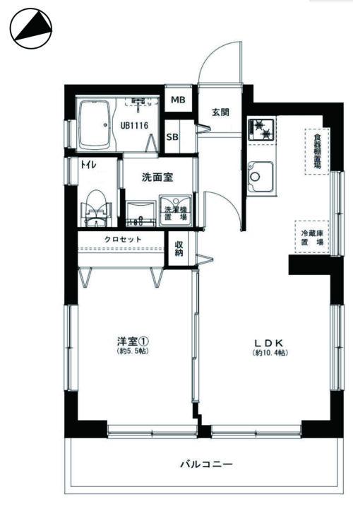 MAC武蔵野コート 2階