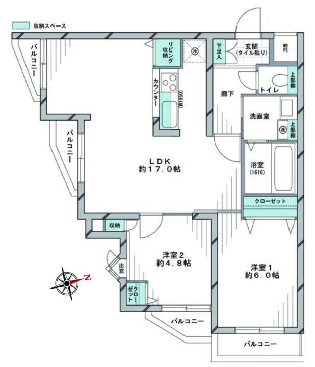 セザール上井草 2階