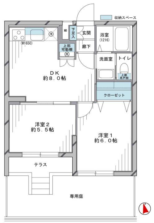 MAC富士見丘コート 1階
