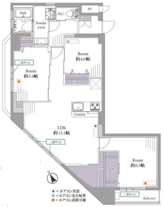 パラシオン荻窪 9階