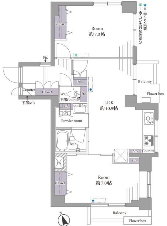 西荻ハイホーム 6階