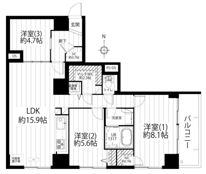 ニュー小金井マンション 3階