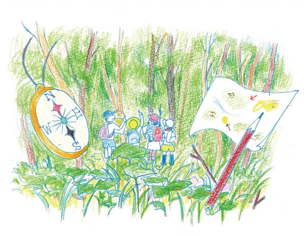 「妙高リブランの森」で2泊3日の自然体験プログラム