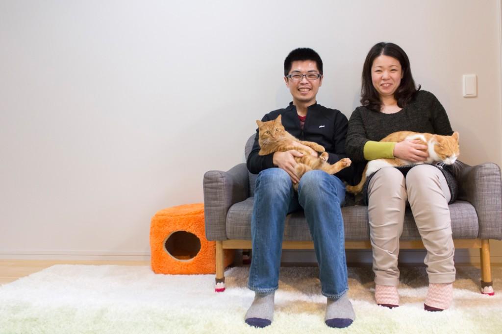 K様ご夫婦と愛猫