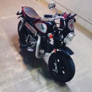 趣味の一つ、愛車のバイク